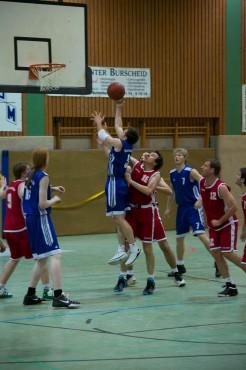 Basketball Spielsituation